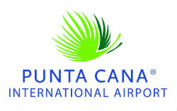 Dominican Republic airport growth logo